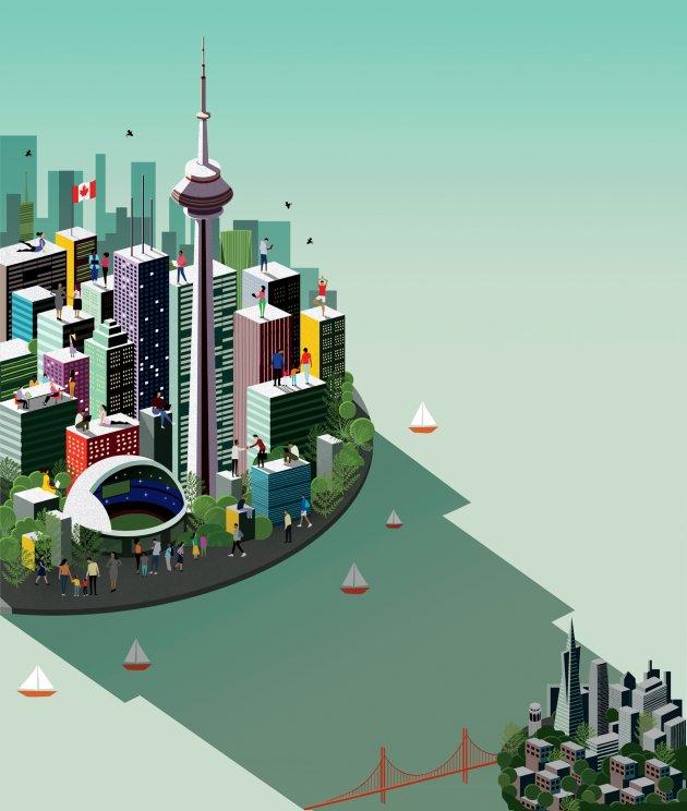 Hệ sinh thái khởi nghiệp Toroton đang ngày càng được các doanh nghiệp startup đánh giá cao. Ảnh: Inc.