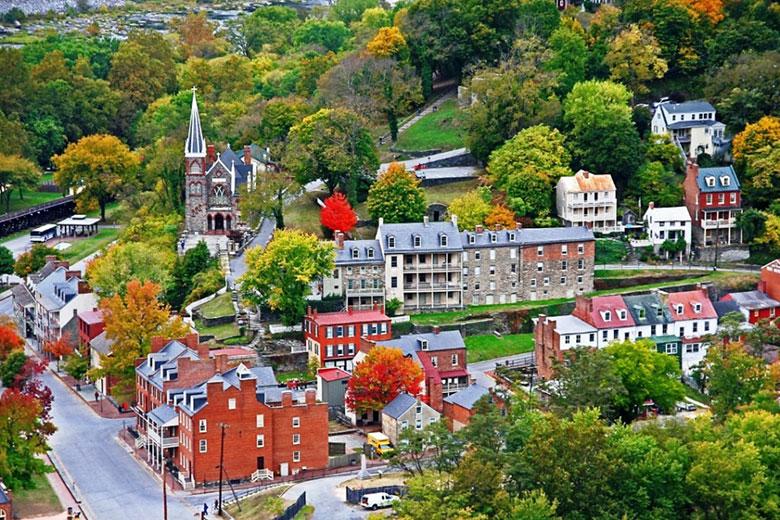 Địa điểm: Thị trấn Harpers Ferry, tiểu bang West Virginia