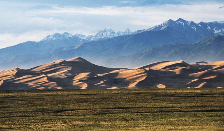 Địa điểm: công viên quốc gia Great Sand Dunes, tiểu bang Colorado