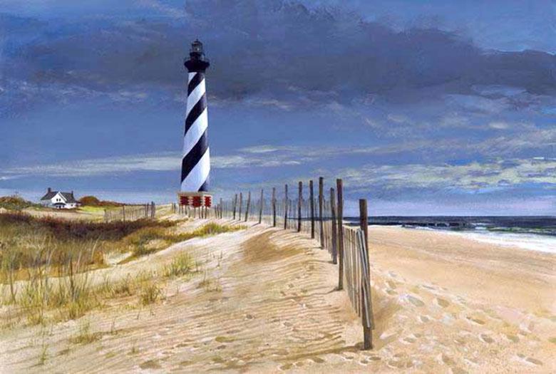 Địa điểm: Ngọn hải đăng Cape Hatteras, tiểu bang North Carolina