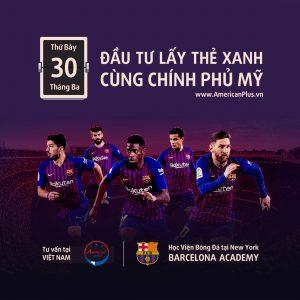 [DANTRI.VN] Cơ hội định cư Mỹ khi đầu tư dự án học viện bóng đá Barcelona tại New York