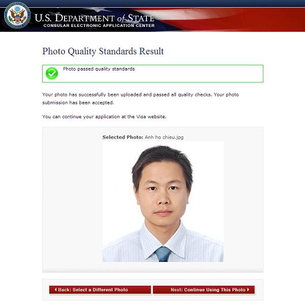 Hướng dẫn điền mẫu đơn DS-160 - xin visa Mỹ online