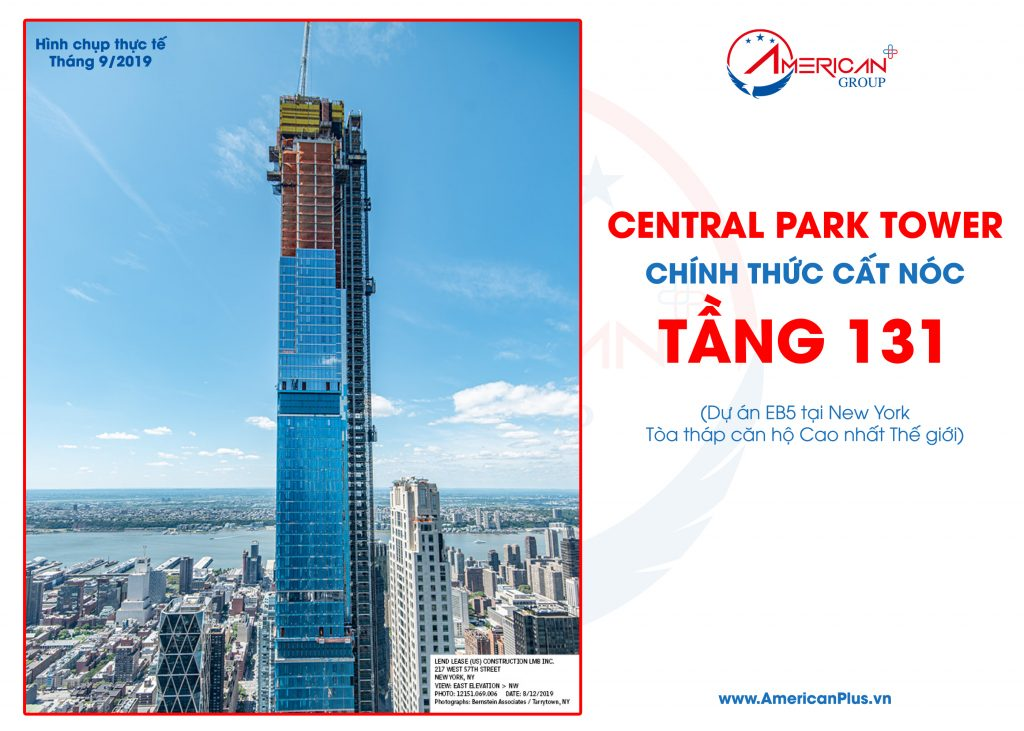 Central Park Tower Eb5 New York Cat Noc Tang 131