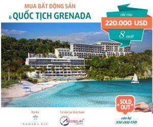 Du An Kawana Bay Grenada Thong Bao Da Ban Het Can Ho 350.000 Usd