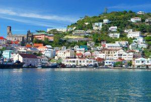 Grenada Quoc Dao Xinh Dep Voi Tam Ho Chieu Quyen Nang