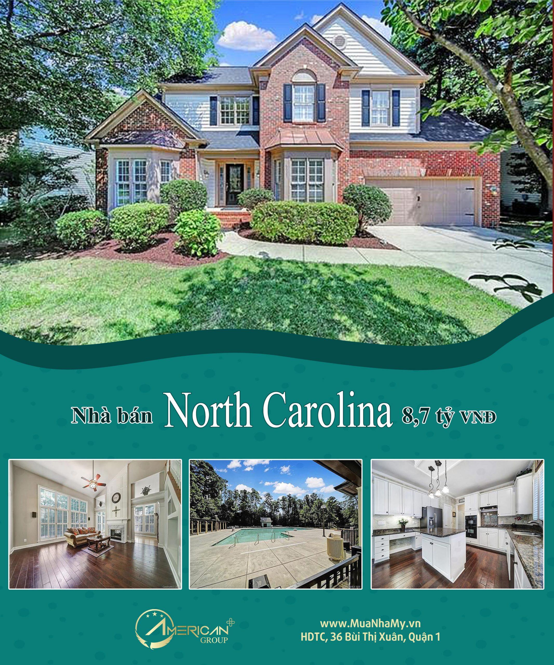 Nha Ban Tai Charlotte North Carolina