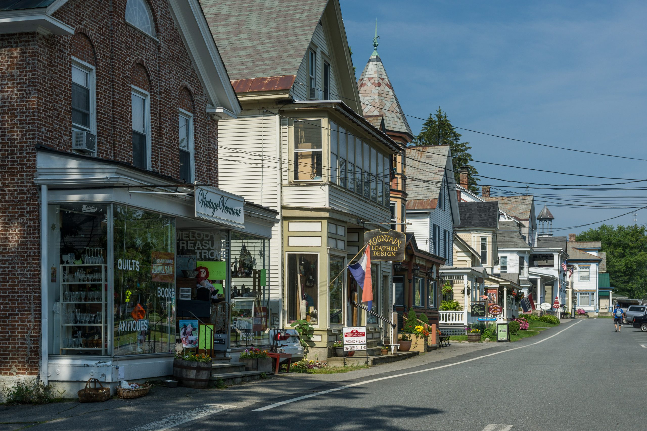 Chester, Vermont Downtown